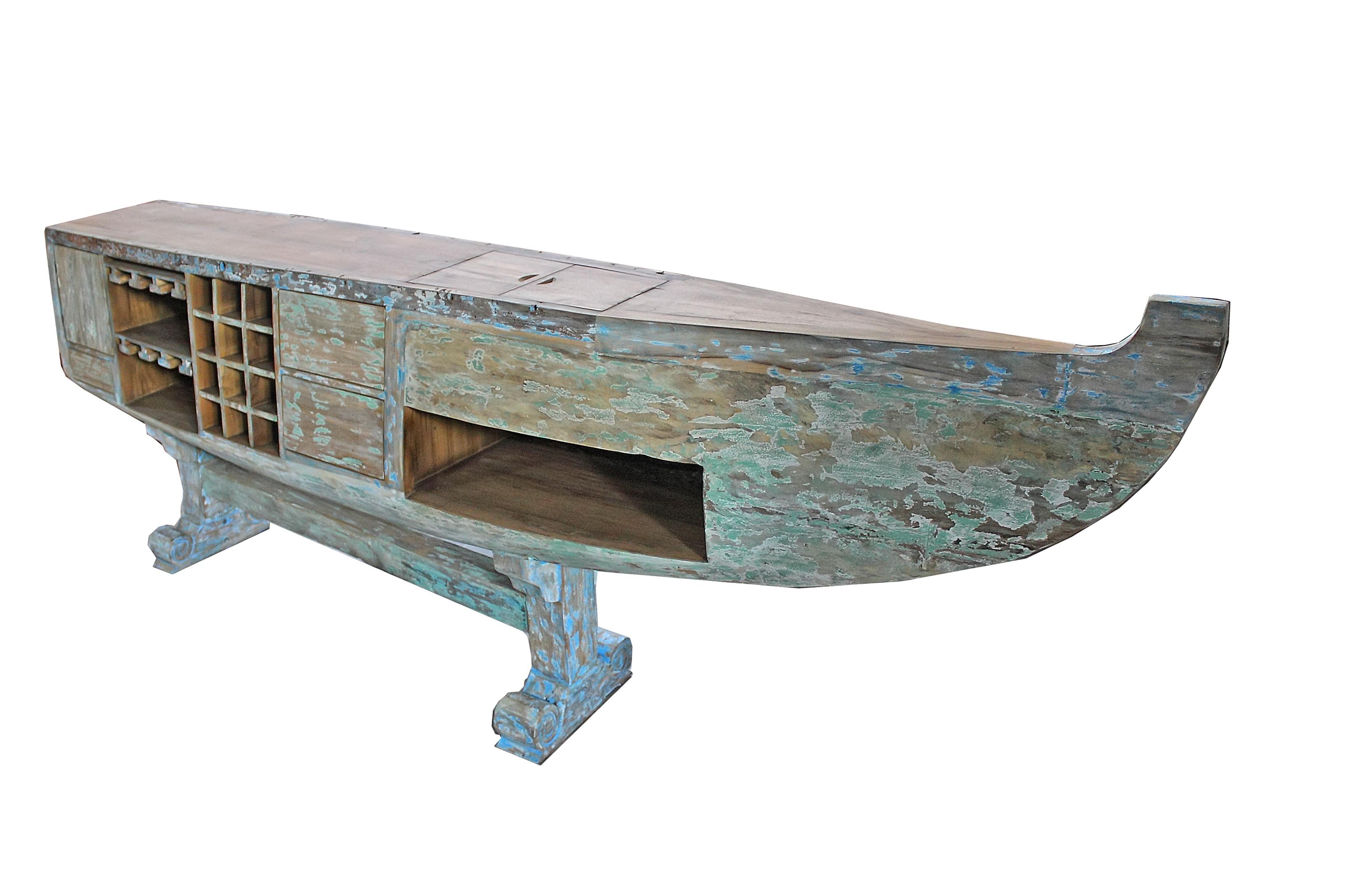Boat Bar Table