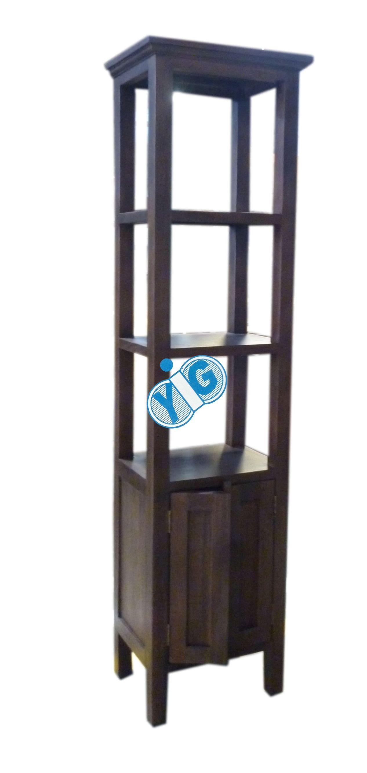rack with doors
