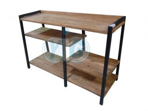 industrial type furniture. Console Rack Type N Industrial Furniture .